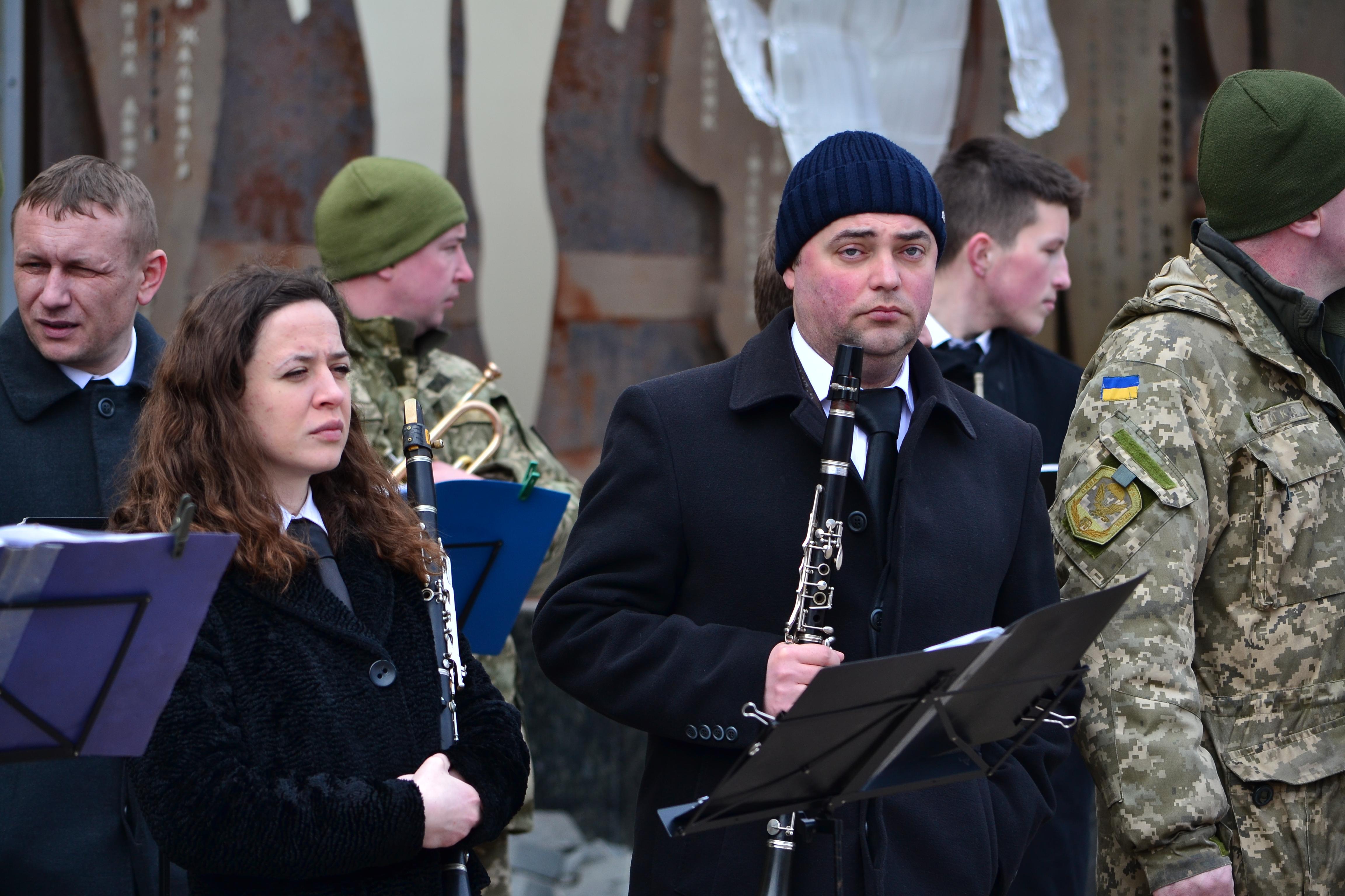 DSC 0802 1 - Ці воїни наповнюють наші серця: в Житомирі відзначили День українського добровольця (ФОТО)