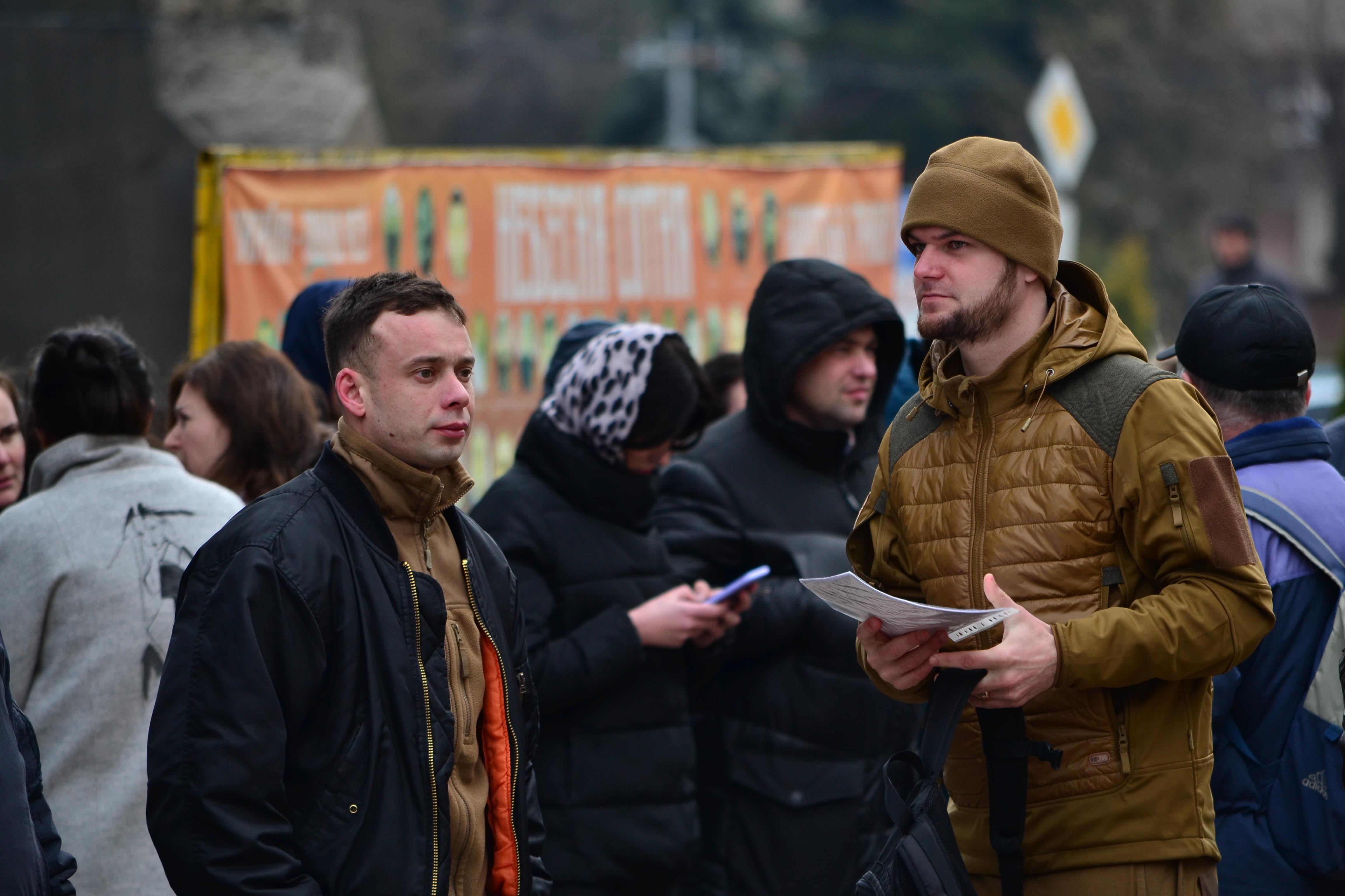 DSC 0840 1 - Ці воїни наповнюють наші серця: в Житомирі відзначили День українського добровольця (ФОТО)