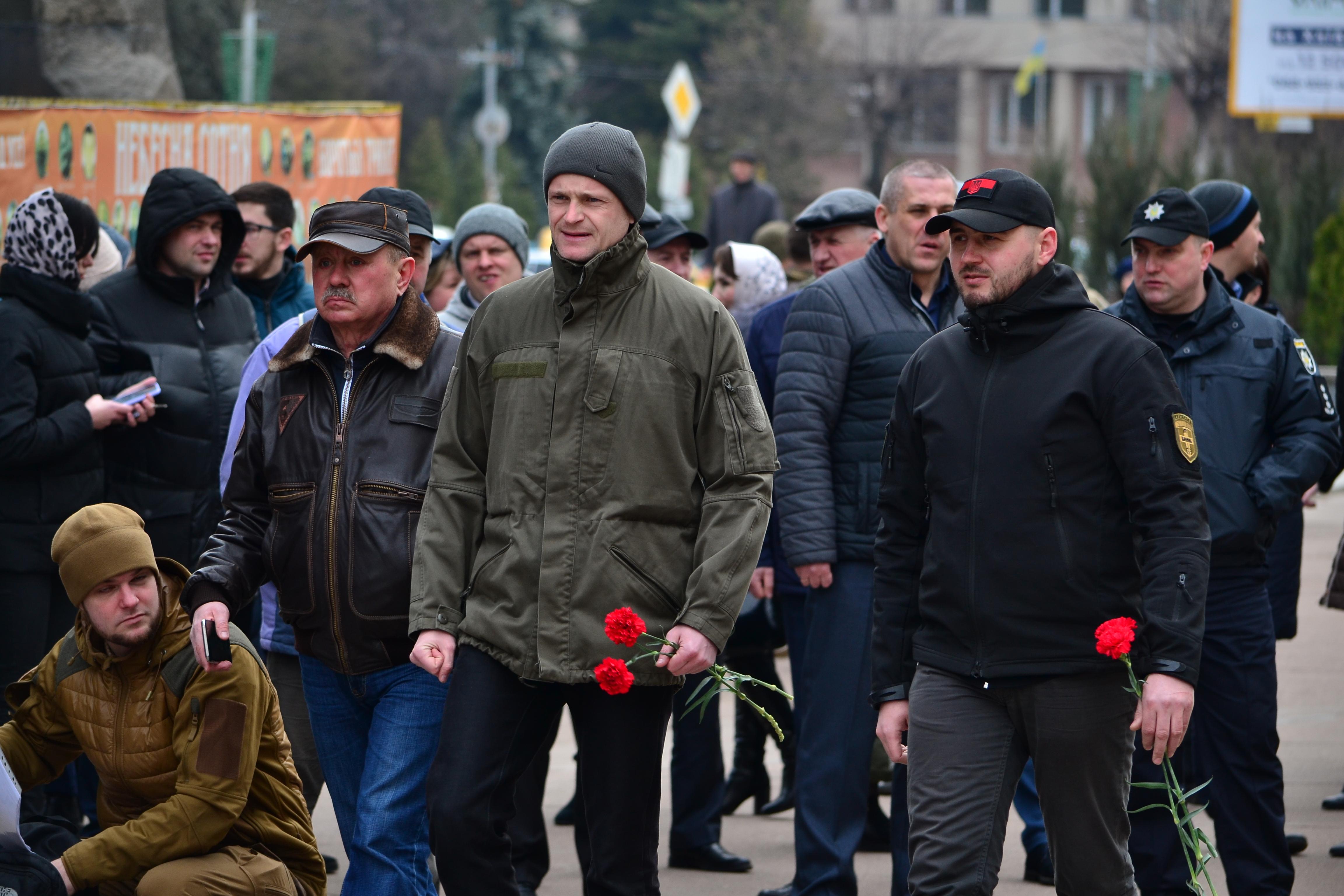 DSC 0841 1 - Ці воїни наповнюють наші серця: в Житомирі відзначили День українського добровольця (ФОТО)