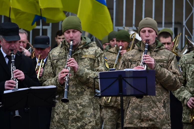 DSC 0869 Kopyrovat  - Ці воїни наповнюють наші серця: в Житомирі відзначили День українського добровольця (ФОТО)