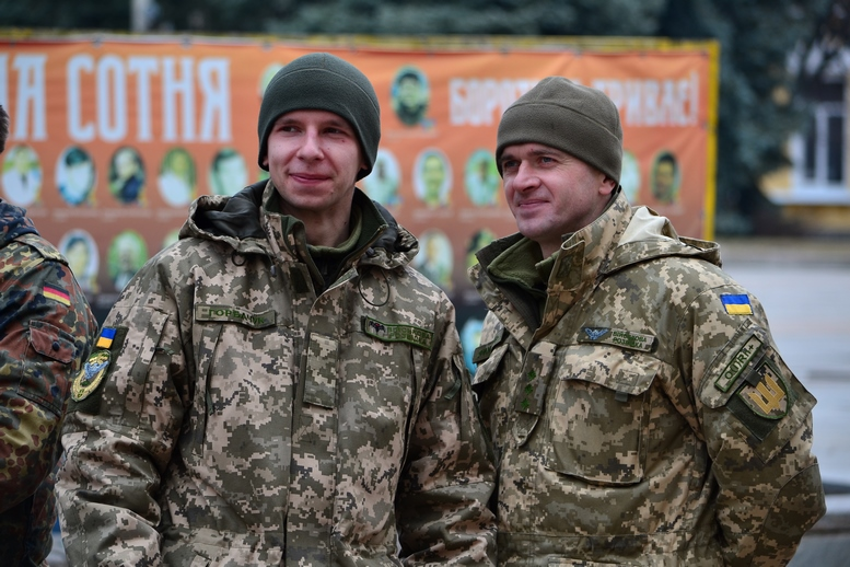 DSC 0886 Kopyrovat  - Ці воїни наповнюють наші серця: в Житомирі відзначили День українського добровольця (ФОТО)