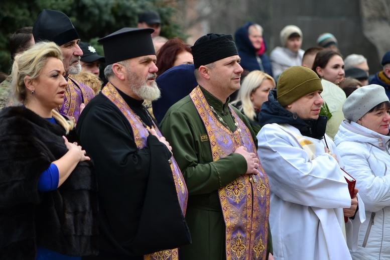 DSC 0900 Kopyrovat  - Ці воїни наповнюють наші серця: в Житомирі відзначили День українського добровольця (ФОТО)