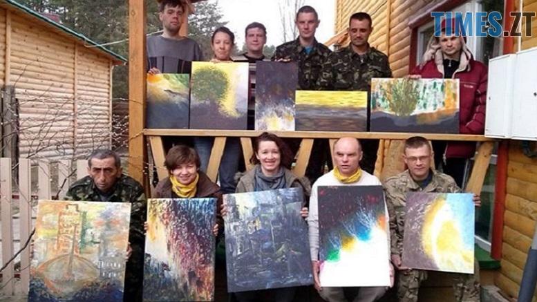 Desnyanska Tvorcha kriyivka - Побачити «Війну та мир очима воїна» запрошують житомирян