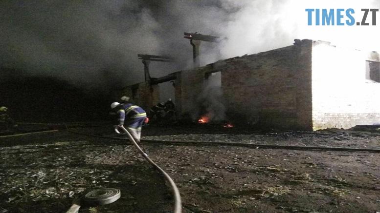 IMG 7509 - На Житомирщині згоріло одне з приміщень приватного підприємтва