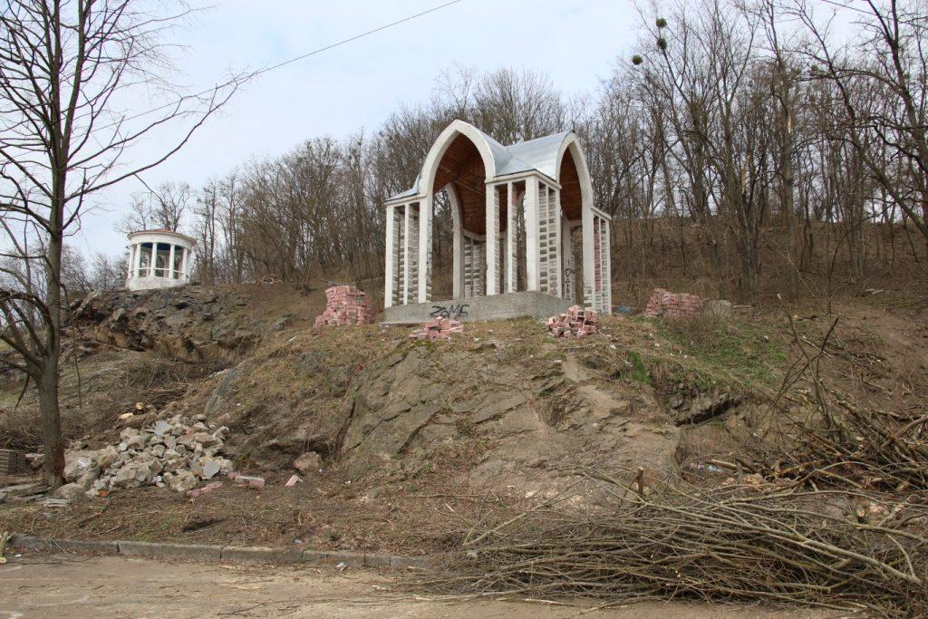 img1552997285 1024x683 - У Житомирському парку розпочали реконструкцію Набережної