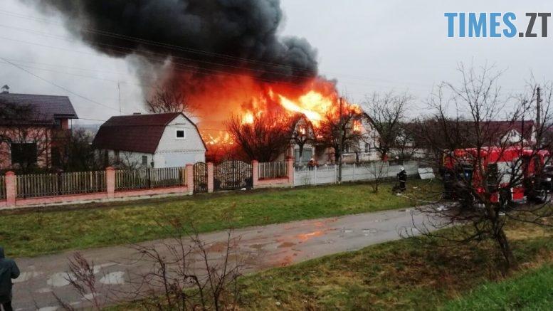 03 777x437 - Бердичівські вогнеборці ліквідували масштабну пожежу в Гришківцях