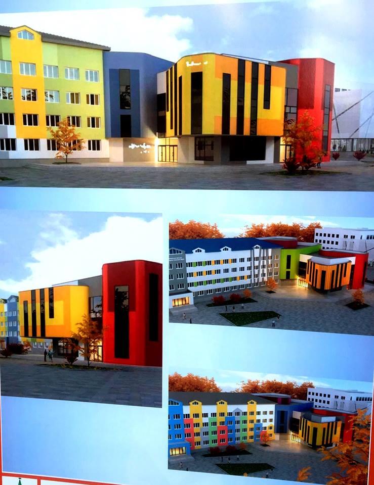 32696 1 - Мер Житомира презентував ескізи нового корпусу гімназії №23