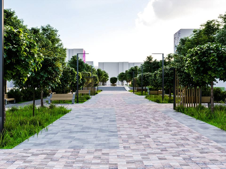 56608796 2395499623835359 7960669128052703232 n - Проект відновлення Польського бульвару продемонстрував житомирянам головний архітектор міста