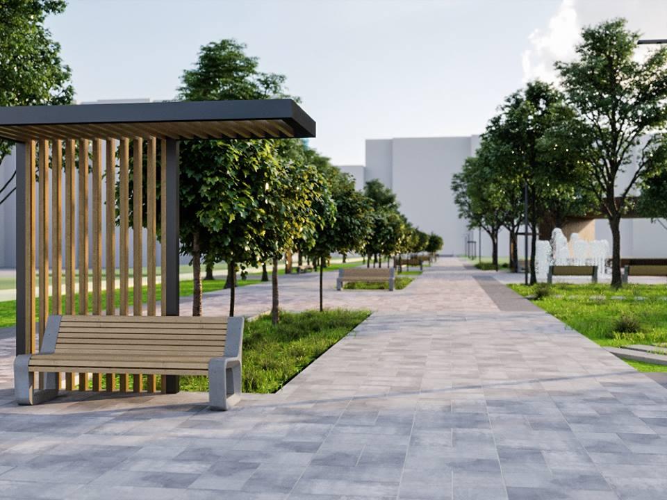 56649471 2395499793835342 2042821368080236544 n - Проект відновлення Польського бульвару продемонстрував житомирянам головний архітектор міста