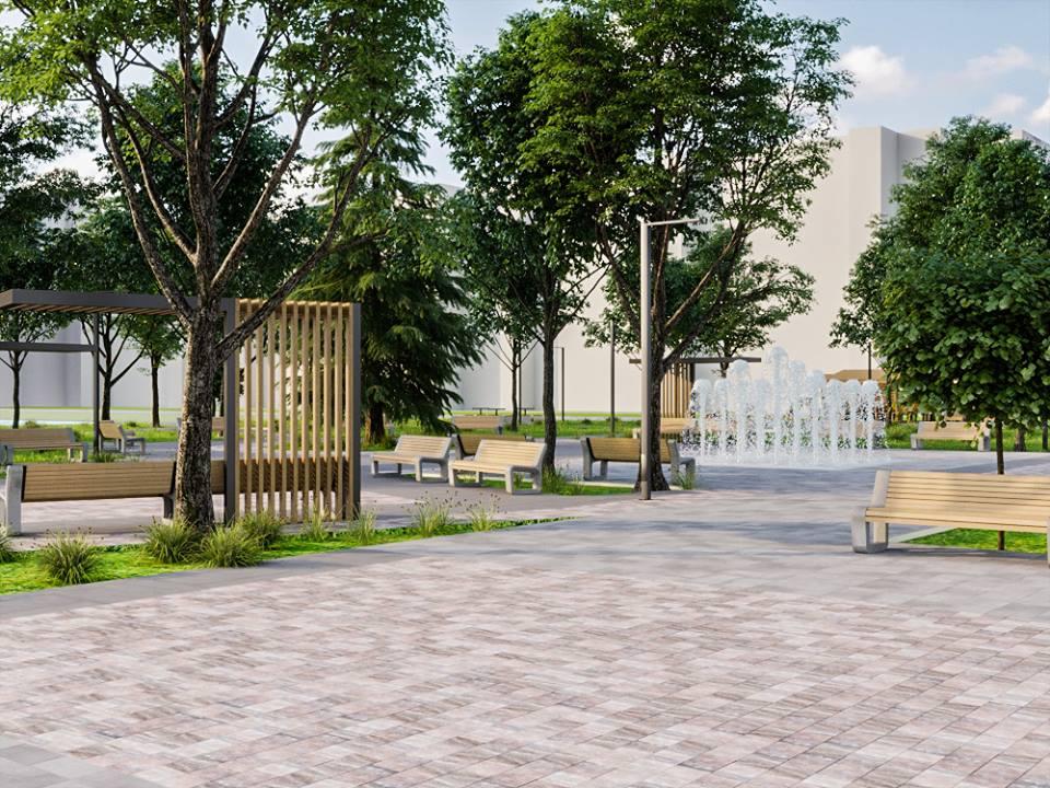 56664635 2395499713835350 1210080174922530816 n - Проект відновлення Польського бульвару продемонстрував житомирянам головний архітектор міста