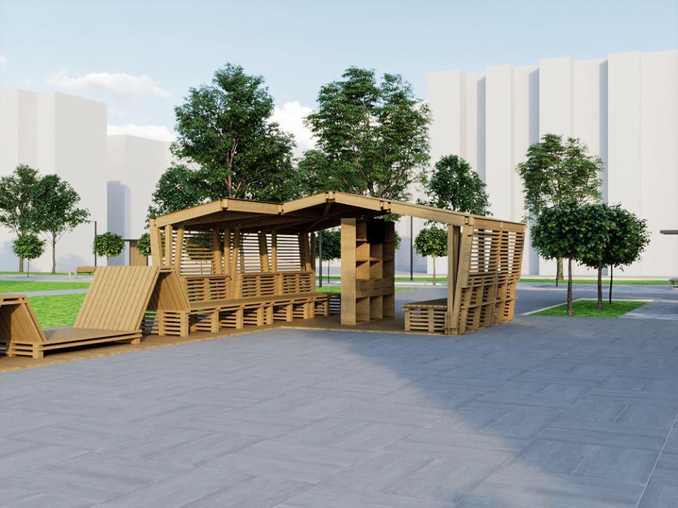 56847986 2395499870502001 5202805627256045568 n - Проект відновлення Польського бульвару продемонстрував житомирянам головний архітектор міста