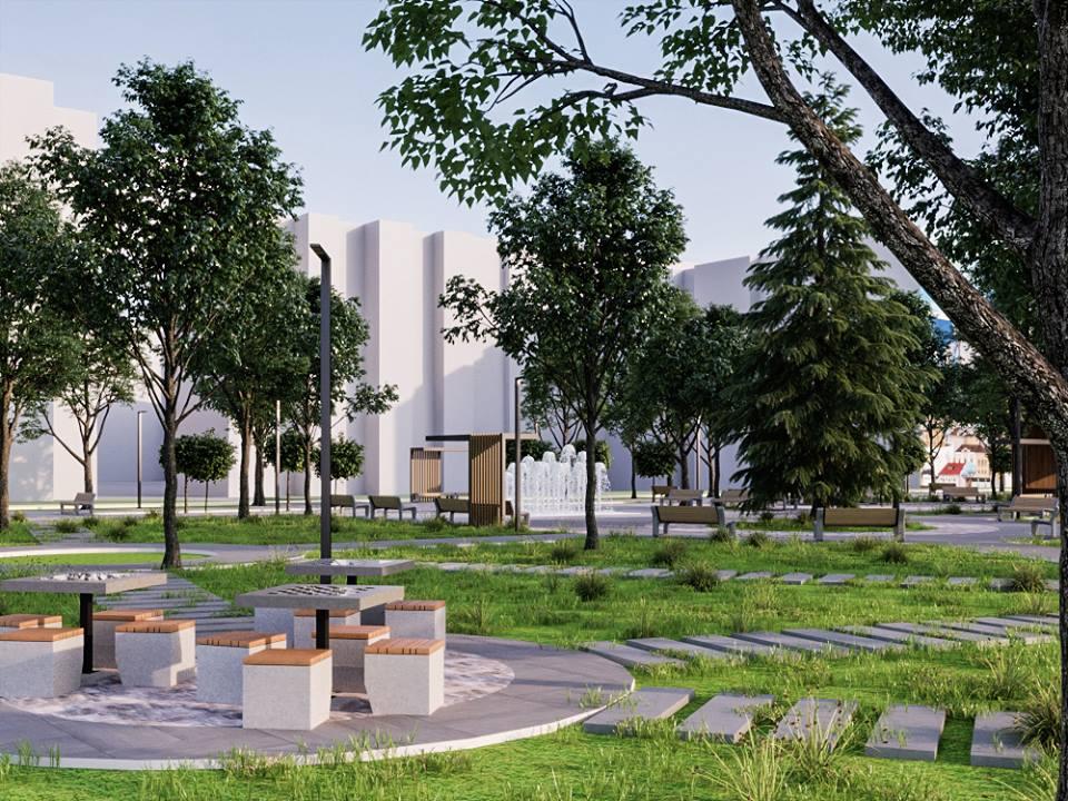 56874543 2395499603835361 4468345028271407104 n - Проект відновлення Польського бульвару продемонстрував житомирянам головний архітектор міста