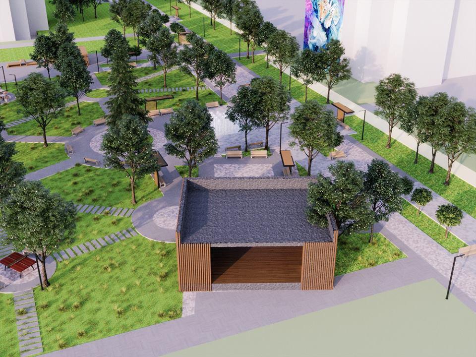 57012603 2395499847168670 6252480507523629056 n - Проект відновлення Польського бульвару продемонстрував житомирянам головний архітектор міста
