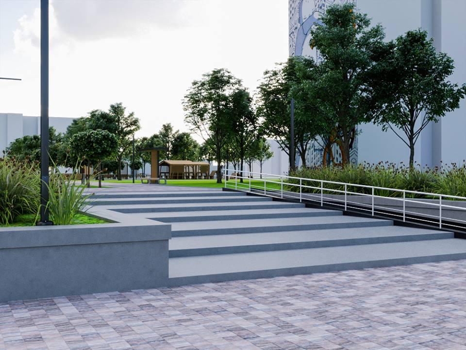 57232157 2395499657168689 3193666831525085184 n - Проект відновлення Польського бульвару продемонстрував житомирянам головний архітектор міста
