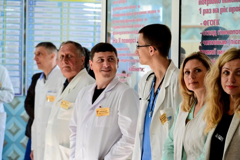 DSC 0418 Kopyrovat  - Для Житомирської районної лікарні придбали один із найкращих томографів в Україні