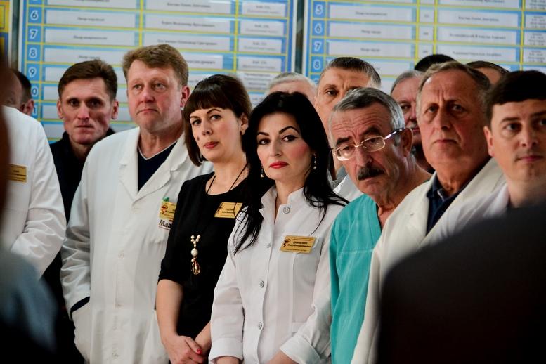 DSC 0426 Kopyrovat  - Для Житомирської районної лікарні придбали один із найкращих томографів в Україні