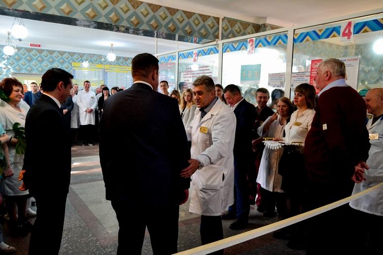 DSC 0431 Kopyrovat  - Для Житомирської районної лікарні придбали один із найкращих томографів в Україні
