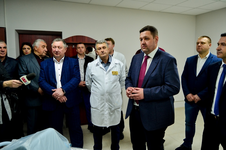 DSC 0474 Kopyrovat  - Для Житомирської районної лікарні придбали один із найкращих томографів в Україні