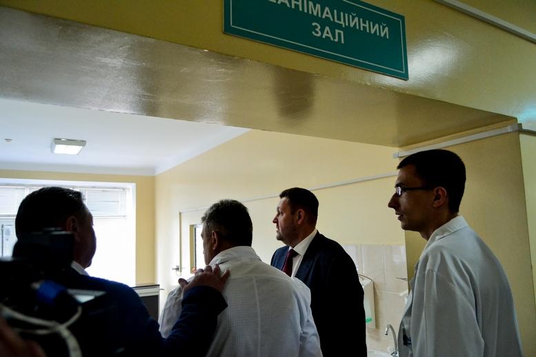 DSC 0485 Kopyrovat  - Для Житомирської районної лікарні придбали один із найкращих томографів в Україні