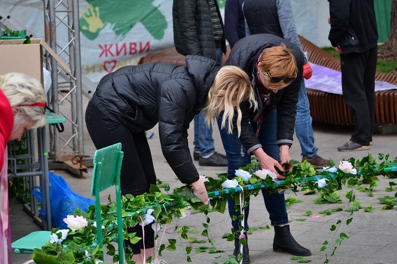 DSC 0894 Kopyrovat  - Житомир в Великодньому декорі: поспішайте зробити селфі на фоні писанок (ФОТО)