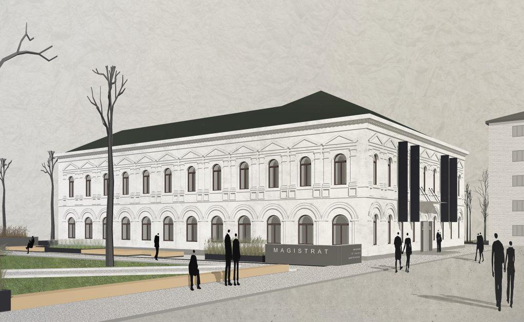 Magistrat 1 1024x631 1024x631 - В Житомирі планують реставрувати будівлю Магістрату