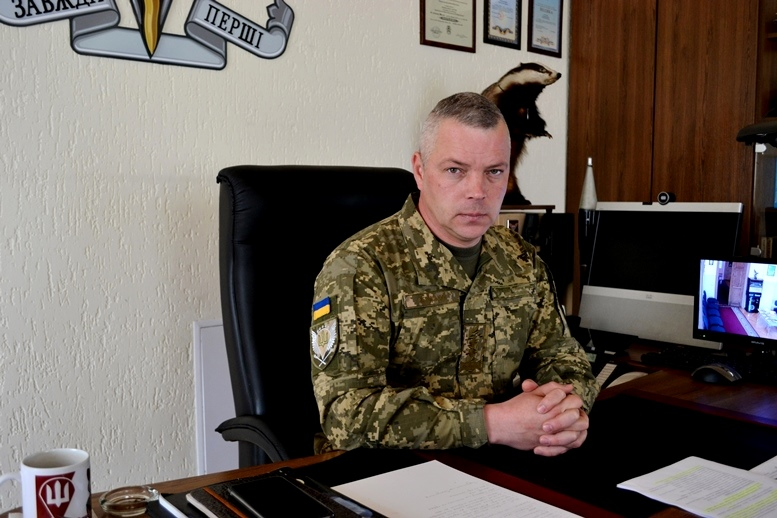 05 - Головний десантник України М. Забродський: «Якщо ворог нападе на Житомирщину з півночі, то…» (ВІДЕО)