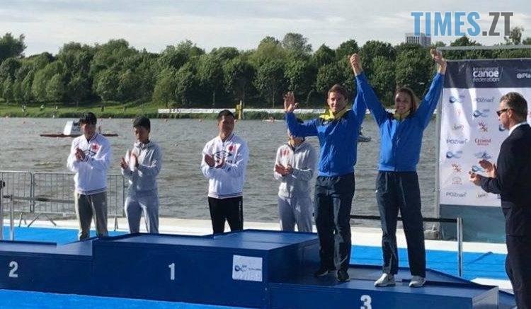 61067825 391448891456534 3200105949574463488 n 750x437 - Житомирська спортсменка здобула чотири медалі на Кубку світу з веслування на байдарках та каное