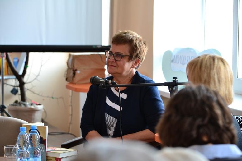 DSC 0099 Kopyrovat - ВБердичеві презентували новий роман «Клавка» письменниці Марини Гримич (ФОТО)