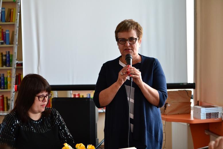 DSC 0117 Kopyrovat - ВБердичеві презентували новий роман «Клавка» письменниці Марини Гримич (ФОТО)