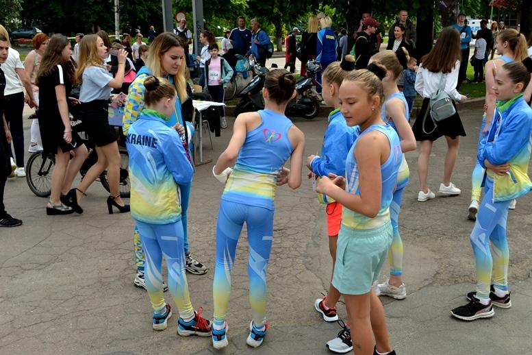 DSC 0212 - Олімпійський День у Житомирі: Бубка фотографувався феєрично – а біг так собі (ФОТО)
