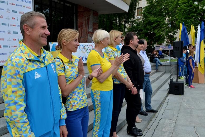 DSC 0226 - Олімпійський День у Житомирі: Бубка фотографувався феєрично – а біг так собі (ФОТО)