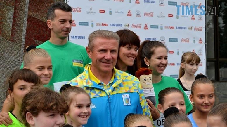 DSC 0234 - Олімпійський День у Житомирі: Бубка фотографувався феєрично – а біг так собі (ФОТО)