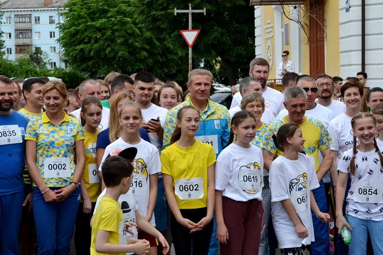 DSC 0237 - Олімпійський День у Житомирі: Бубка фотографувався феєрично – а біг так собі (ФОТО)