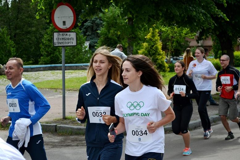 DSC 0254 - Олімпійський День у Житомирі: Бубка фотографувався феєрично – а біг так собі (ФОТО)