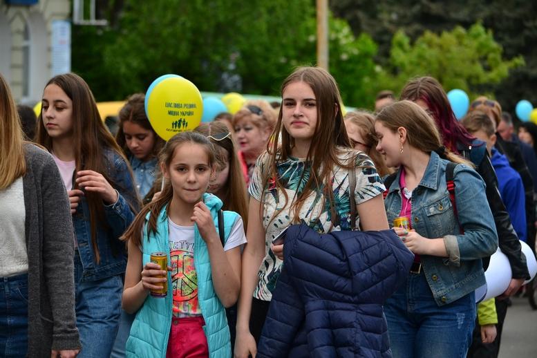 DSC 0276 Kopyrovat - Тисячі бердичівлян пройшли містом в рамках акції на захист сім'ї (ФОТО)