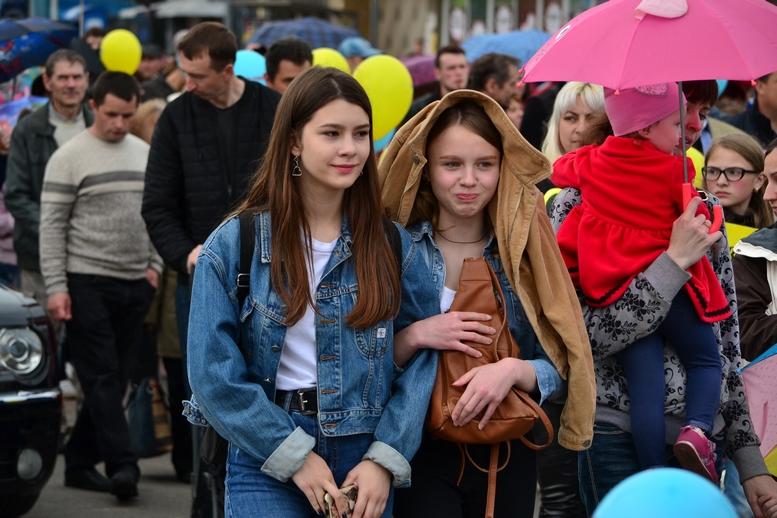 DSC 0381 Kopyrovat - Тисячі бердичівлян пройшли містом в рамках акції на захист сім'ї (ФОТО)