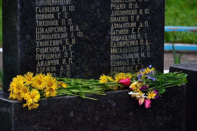 DSC 0599 Kopyrovat - У Бердичеві вшанували пам'ять загиблих на війні працівників Шкірзаводу