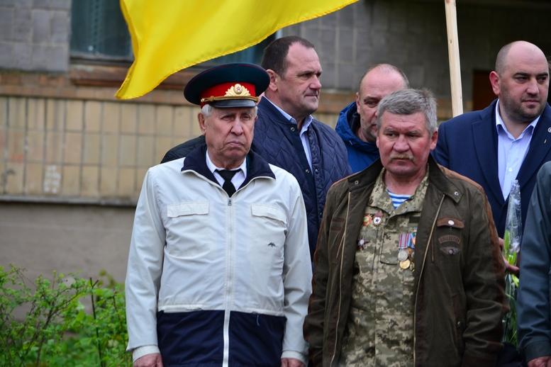 DSC 0605 Kopyrovat 1 - У Бердичеві вшанували пам'ять загиблих на війні працівників Шкірзаводу