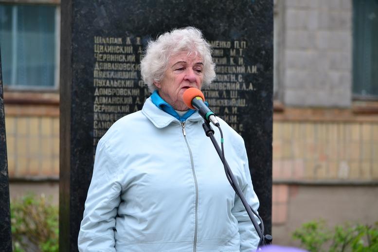 DSC 0630 Kopyrovat - У Бердичеві вшанували пам'ять загиблих на війні працівників Шкірзаводу