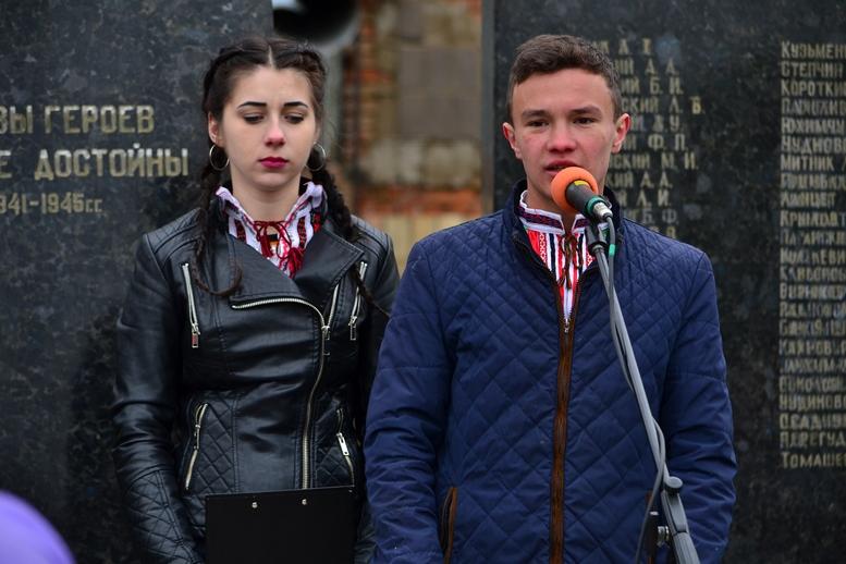 DSC 0646 Kopyrovat 1 - У Бердичеві вшанували пам'ять загиблих на війні працівників Шкірзаводу