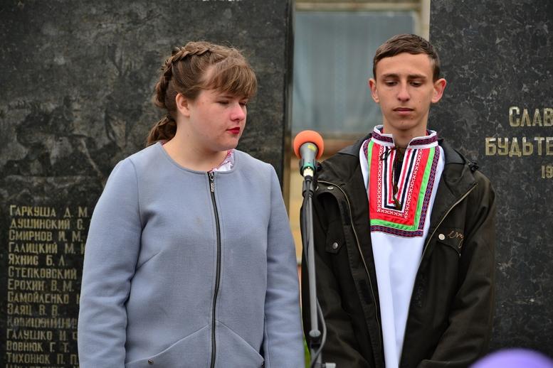 DSC 0649 Kopyrovat - У Бердичеві вшанували пам'ять загиблих на війні працівників Шкірзаводу