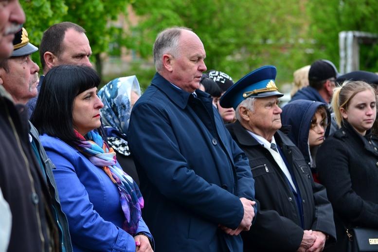 DSC 0664 Kopyrovat - У Бердичеві вшанували пам'ять загиблих на війні працівників Шкірзаводу