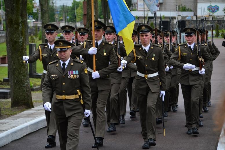 DSC 0711 Kopyrovat - Житомир у скорботі:  День пам'яті на військовому кладовищі (ФОТО)