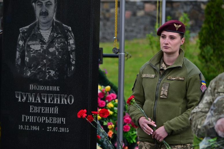 DSC 0732 Kopyrovat - Житомир у скорботі:  День пам'яті на військовому кладовищі (ФОТО)
