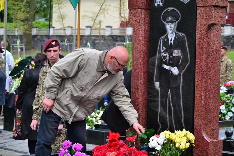 DSC 0743 Kopyrovat - Житомир у скорботі:  День пам'яті на військовому кладовищі (ФОТО)