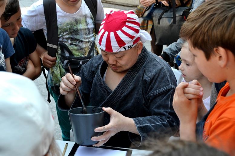 DSC 0778 - Рендзю, бонсай, орігамі: справжні і несправжні японці на Михайлівській (ФОТО)