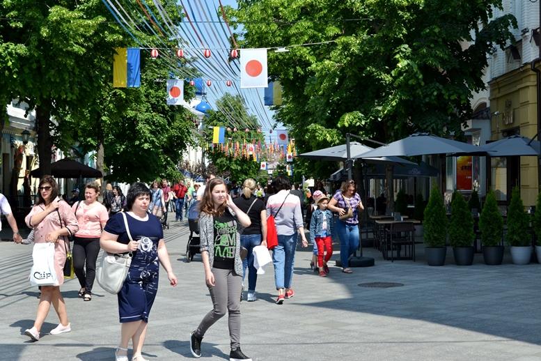 DSC 0795 - Рендзю, бонсай, орігамі: справжні і несправжні японці на Михайлівській (ФОТО)