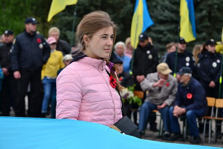 DSC 0834 Kopyrovat - Більше 3 тисяч житомирян вшанували пам'ять загиблих у Другій світовій війні