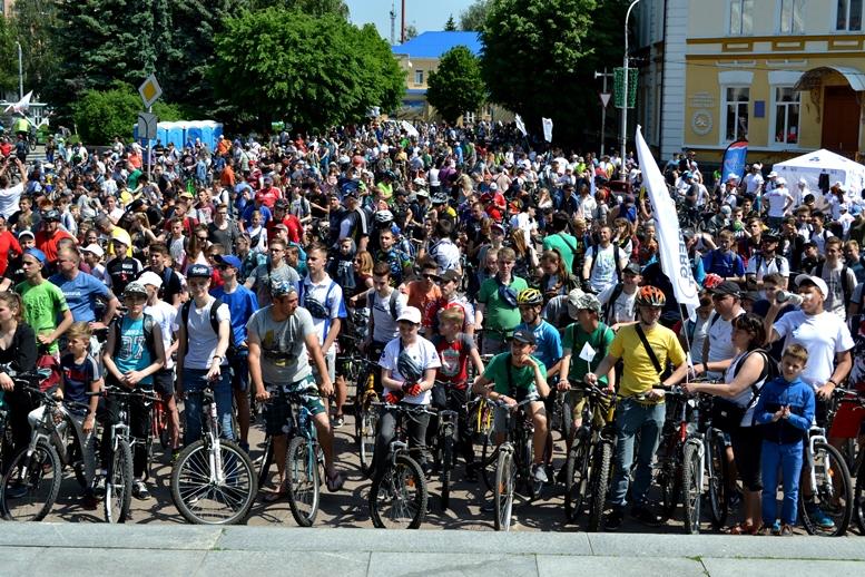 DSC 0838 - Тотальний Велодень у Житомирі: поїхали всі, крім Юри на старенькій «Десні» (ФОТО)