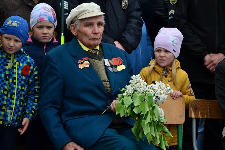 DSC 0856 Kopyrovat - Більше 3 тисяч житомирян вшанували пам'ять загиблих у Другій світовій війні